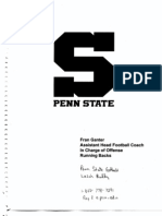 Penn St.Game Forms