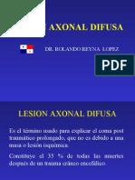 LESION AXONAL DIFUSA