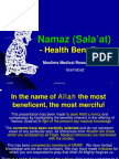 Namaz - The Health Benefits