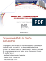 Modelo de Ciclo de Diseño Instruccional