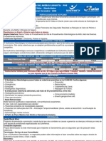 Tabela Sul America Odonto Pme Novembro - 2008