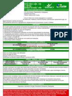 Tabela Green Card Pme Novembro - 2008