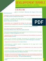 Programme du DD 2012