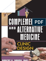 Complementary and Alternative Medicine Clinic Design