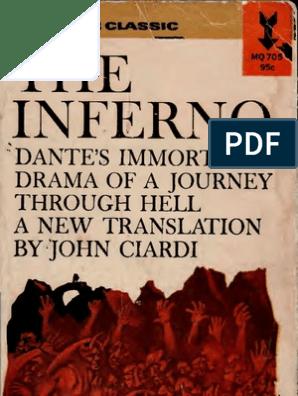 Dante The Inferno Transl By John Ciardi