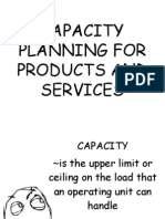 Capacity Planning for Products and Services (1)