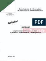 Rapport Confidentiel Agriculture