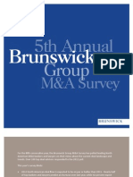 Brunwick Group M.&A. survey