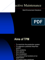 Total Productive Maintenance Tpm Wcm