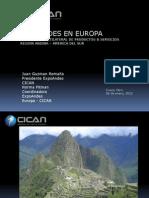 EXPOSICION INTERNACIONAL EN EUROPA - ESQUEMA