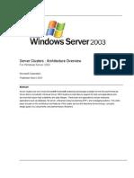ServerClustersArchitecture.doc