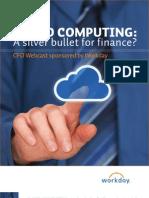 Workday Cloud Silver Bullet Finance CFO Final