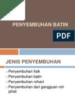 PENYEMBUHAN BATIN