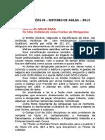 Obrig. III - 2012 - Impressao