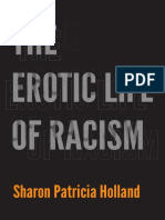 The Erotic Life of Racism by Sharon Patricia Holland