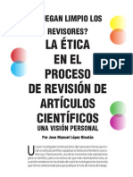 La Ética en el Proceso de Revisión de Artículos Científicos