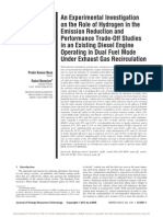 Role of h2 in Emission Reduction