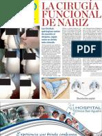 CIRUGÍA FUNCIONAL DE LA NARIZ