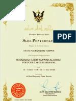 Hadenan Muzakarah Hakim Tilawah Swk