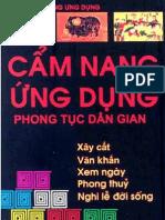 Cam Nang Ung Dung Phong Tuc Dan Gian