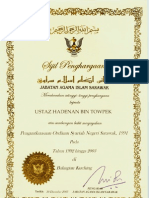 Hadenan Shariah Re-Enforcement Ordinance