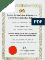 Hadenan Islamic Understanding Course