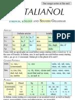 French, Italian, Spanish Grammar