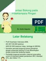 Case Preeklampsia Ringan Andre + Presbo