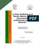 La pena de muerte en el mundo, México instrumentos por su abolición