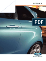 Ford Ka Brochure NL