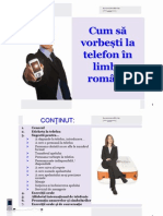Telephoning in Romanian presentation