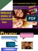 Virginia Satir Communication Styles