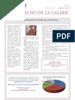 ECHO DE LA GALERIE N° 21
