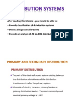 Pri Sec Distribution System