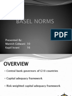 Final Basel Norms
