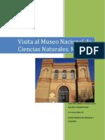 Visita Al Museo Nacional de Ciencias Naturales