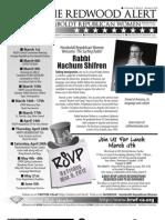 March 2012 HRWF Redwood Alert