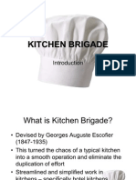P1.2 - Introduction to Kitchen Brigade