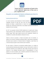 Moción del PP de apoyo a las medidas contra los desahucios.