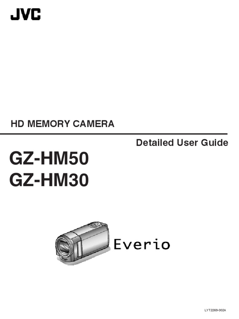 jvc camcorder detailed manual gz hm30 secure digital battery charger rh es scribd com JVC Everio Gz HD300 JVC Everio Gz MC500