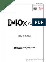 Nikon D40 Service Manual