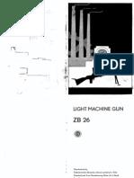 9F54E ZB26 Light Machine Gun