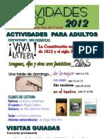 Actividades Marzo 2012 Cartel