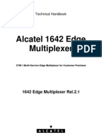 Alcatel 1642 Edge Mulitplexer REL2.1 Technical Handbook