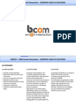 BCOM EMAIL INTERACTION - Caso di Successo