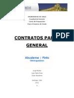 Apunte Contratos Parte General. AbuslemeyPinto