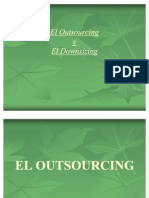 dowsorsing y outsourcing