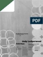 Judy Ledgerwood Exhibition Poster