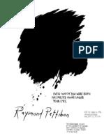 Raymond Pettibon Exhibition Poster