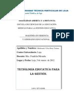trabajo de tecnología educativo 2